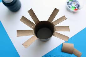 Toilet Paper Roll Spider Kids Craft
