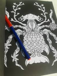 Amazon Complicated Spiders Anti Stress Coloring Book Dp 1514878658