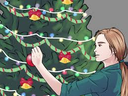 Types Christmas Trees Most Fragrant by How To Decorate A Christmas Tree Elegantly 12 Steps