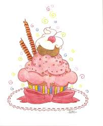 Birthday Cupcake by Black amethyst Rose