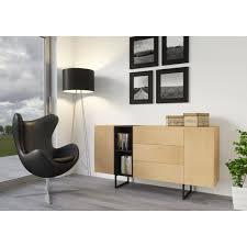 kommode sideboard lowboard anrichte wohnzimmer tv schrank holz abato 170 d eiche