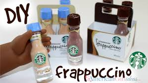Starbucks Frappuccino American Girl Doll Craft