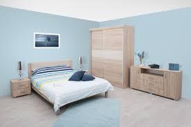 schlafzimmer komplett set d bermeo 5 teilig farbe eiche braun creme