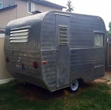 1960 Aristocrat Lil Loafer Canned Ham Travel Trailer 1 Axel 900lbs Baby Sized