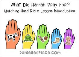 Matching Hands Bible Lesson Introduction