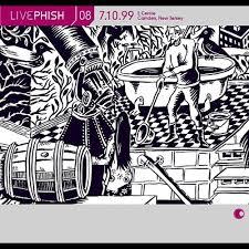 live phish vol 8 7 10 99 e centre camden nj phish songs