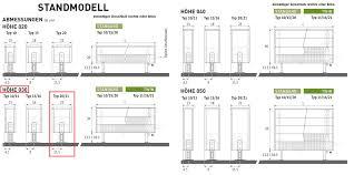 freistehende heizkörper 30 x 23 x ab 40 cm ab 762 watt