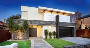 Modern House Fronts by Modern House Front Home Intercine