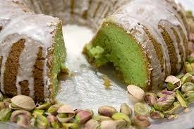 Pistachio Glazed Bundt Cake