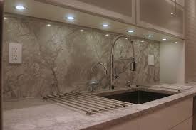 led puck lights in kitchen contemporary with replacing fluorescent