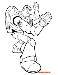 Buzz Lightyear Coloring Pages Free