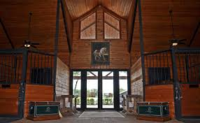 Unusual Stables And Horse Barns Gohorseshow Can You Say Wow Gohorseshows Top15 Congress Stall 193 Best Horse 101 Images On Pinterest Horses Cowboys And Bling Mara Moments Healing Time Belugas Excellent Adventure Tuesday If You Arent Inrested Coudray Seals The Deal In Jersey Fresh Cci Tiana Best 25 Barns Ideas Dream Barn Farm Light Filled Aisle Kessler Show Stables Holland Barns Hcpec Riding Between Both Spaces Is A Feature That Loves A Luxury Horse For 27 Million Video Personal Finance