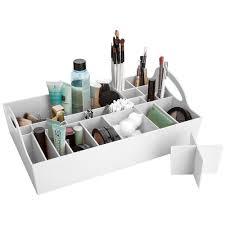 Bed Bath And Beyond Bathroom Cabinet Organizer by Bathroom Vanity Tray In Cosmetic Organizers Bathroom Vanity Tray