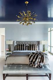 How To Decorate Your Bedroom With Brass Chandelier Elle Dcor Tips