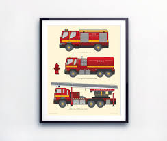 Toddlers Room Decor, Fire Truck Print, Prints For Boys, Nursery Wall ... Bju Fire Truck Room Decor For Timothysnyderbloodlandscom Triptych Red Vintage Fire Truck 54x24 Original Bold Design Wall Art Canvas Pottery Barn 2017 Latest Bedroom Interior Paint Colors Www Coma Frique Studio 119be7d1776b Tonka Collection Decal Shop Fathead For Twin Bed Decals Toddler Vintage Fireman Home Firefighter Nursery Decorations Ideas Print Printable Limited Edition Firetruck 5pcs Pating