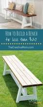 Make Your Own Outdoor Wooden Table by Best 25 Homemade Outdoor Furniture Ideas On Pinterest Outdoor