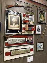 An American themed wall will be part of the decor of the new Cracker Barrel
