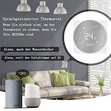 thermostate thermostate zubehör moes smart thermostat wifi