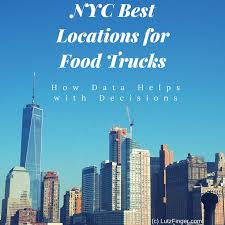 100 Food Trucks World Financial Center Uber Data Determine The Best Places In New York City