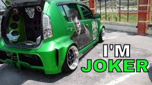 100 Custom Stickers For Trucks Matte Green Myvi Modified With Joker Galeri Kereta