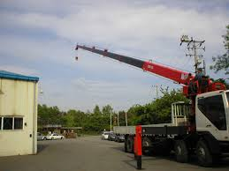 100 Truck Mounted Cranes Mounted Hydraulic Crane CS Machinery Co Ltd