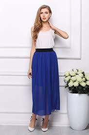 2015 new fashion summer style long maxi skirts womens cheap