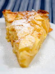 rezept mit bild für toskanischen apfelkuchen torta di mele