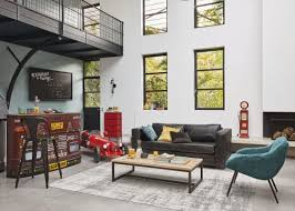 kommode im industrial stil aus metall b 52 cm rot cranberry maisons du monde
