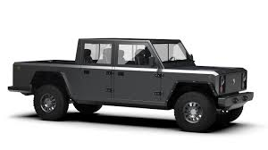 Bollinger Motors Shows Off Pickup Version Of Its Electric SUV - Roadshow