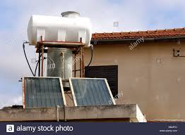 Water Tank Pipes Pictures by Water Tank And Radiators With Pipes Water Heater Using Solar