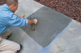 how to lay tile concrete how to