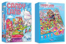 Candyland Game Board Design For HASBRO On Behance