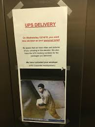 100 Ups Truck Routes UPS Delivery Driver Caught Peeing In Elevator En Route To Deliveries