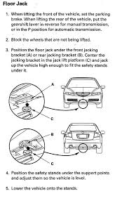 Hydraulic Floor Jack Adjustment by Floor Jack Lifting Points Acurazine Acura Enthusiast Community