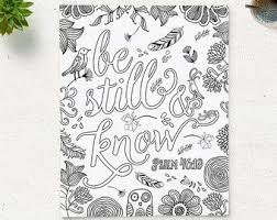 Instant Download Printable Coloring Page For Both Adults And Kids Description From Etsy