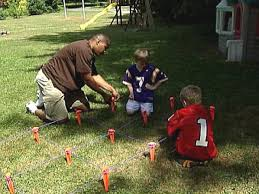 How To Build A Ladder Drill And Finish A Football Field | How-tos ... Backyard Football Glpoast Home Court Hoops End Zone Wikipedia Field Goal Posts Decoration Football Goal Posts All The Best In 2017 Yohoonye Is Officially Ready For Play Czabecom Post Outdoor Fniture Design And Ideas Call Me Ray Kinsella Update Now With Fg Video Post By Lesley Vennero Made Out Of Pvc Pipe Equipment Net World Sports Clipart Clipart Collection Field Materials
