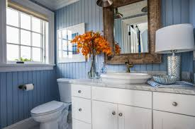 bathroom paintrs with blue tiler ideas and brown that go gray