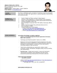 Resume Example With Character Reference
