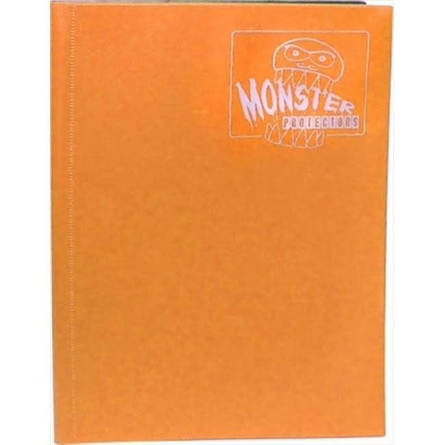 Monster Binder: 4 Pocket - Matte Orange