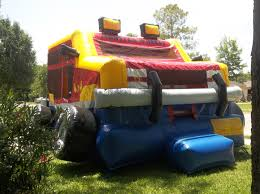 Monster Truck Bounce House $80 - LuckyJumpingRental.com Monster Truck Bounce House Jump Houses Dallas Rental Austin Rentals Introducing The Combo Water Slide Houston Sky High Party The Patriot Inflatable Whiteford Contractor Equip Powered Dump Trailers 40 Container Bounce Houses Doral Comobo Disco Dome Bouncy Castle For Sale Trex Obstacle