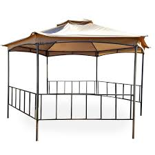 Fred Meyer Patio Furniture Covers by Replacement Canopy For Fred Meyer Hexagon Gazebo Riplock 350