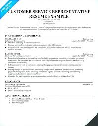 Customer Service Skills Resume Example Examples For Based