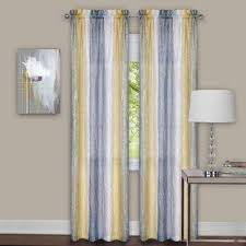 gray sheer curtains drapes window treatments the home depot