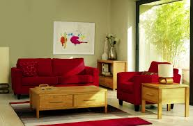 Furniture Attractive Red Living Room Ideas