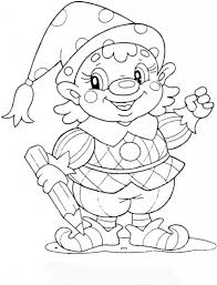 Christmas Coloring Pages For 10 Year Olds