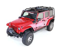Sherpa Roof Rack, 4 Door; 07-16 Jeep Wrangler JKU | Jeep Wrangler ...