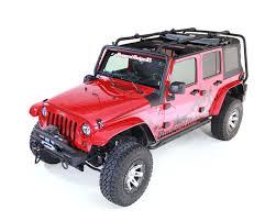Sherpa Roof Rack, 4 Door; 07-16 Jeep Wrangler JKU | Jeep Wrangler ...
