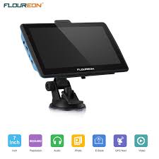 100 Commercial Gps For Trucks Floureon 7 Inch Portable Car GPS Navigation With Sunshade Sat Nav