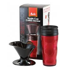 Melitta Pour Over Brewer With Travel Mug