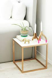 Ikea Sofa Tables Canada by Best 25 Gold Side Tables Ideas On Pinterest Gold Accents Gold